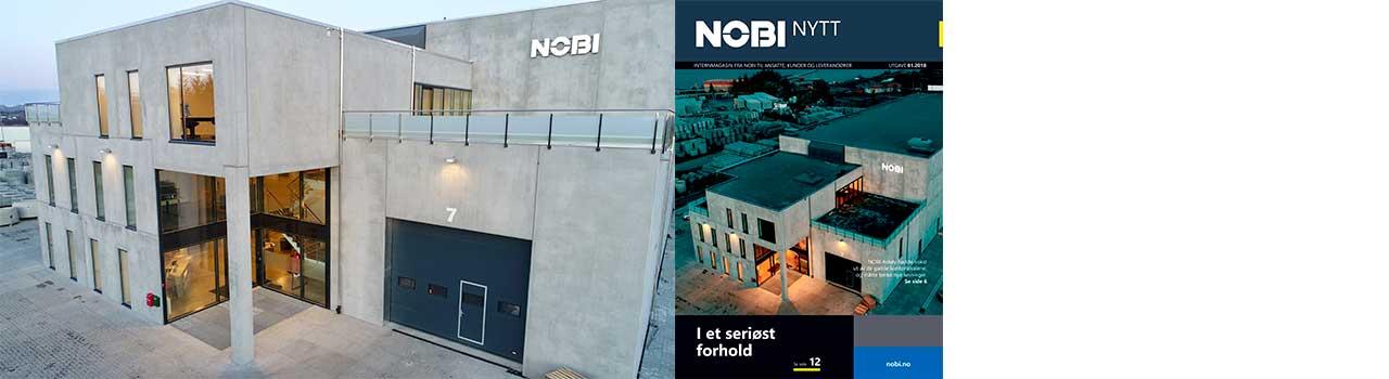 NOBI Nytt er NOBI sitt nye magasin