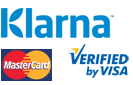 Klarna betaling. Visa, MasterCard, faktura og avbetaling