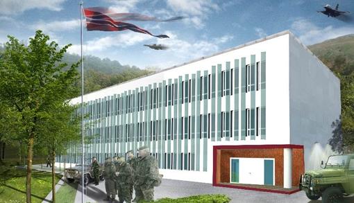 Visund på Haakonsvern er Norges mest energieffektive kontorbygg.