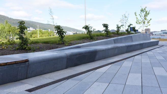 NOBI har levert betongelementene til prosjektet. FOTO: Svein Boasson AS.
