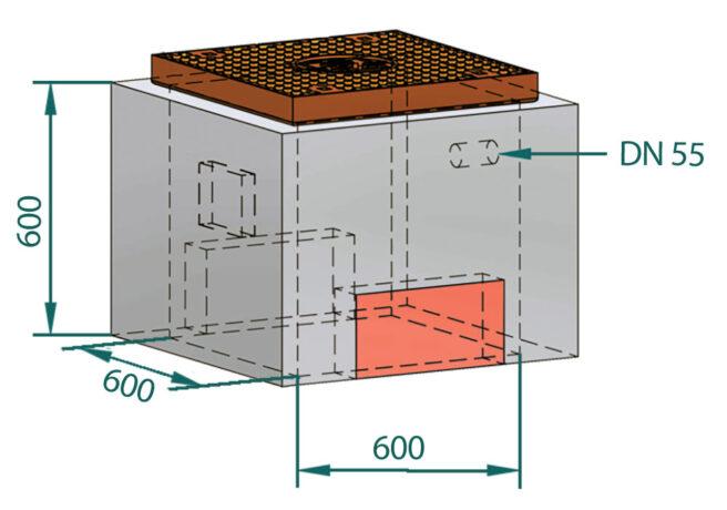Basal LED-kum flat