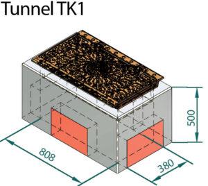 Basal IT tunnelkum trekkekum