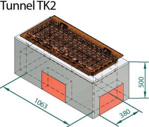 Basal IT Tunnelkum trekkekum tk2