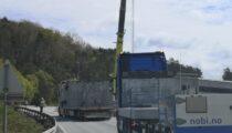 Kum leveranse Grunnavågen på Stord