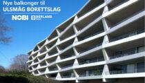 Balkongelementer til Ulsmåg Borettslag