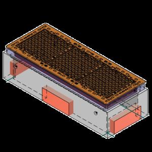 Rektangulære trekkekummer